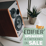 Edifier Speakers and Headphones on Sale - Save up to 40% - Thumbnail