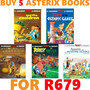 Buy 5 Asterix Paperbacks for R679 - Thumbnail