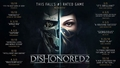 Dishonored 2 (PC/PS4/Xbox One) - Dishonored 2 is among the top-rated games of 2016 - Thumbnail