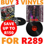 Buy 3 Vinyls for R289. Over 250+ to choose from. - Thumbnail