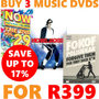 Buy 3 Music DVDs for R399 - Thumbnail