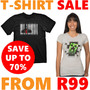 T-Shirt Sale - From R99 - Up To 70% Off - Thumbnail
