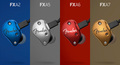 New - Fender FXA 2,5,6 and 7 Professional In-Ear Monitor Headphones - Thumbnail