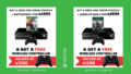 Two Xbox One 500GB Console + Game + FREE Wireless Controller Bundles on Promotion - Thumbnail