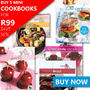 Buy 5 Mini-Cookbooks for R99 - Save over 50% - Thumbnail
