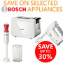 Save up to 30% on Selected Bosch Appliances - Thumbnail