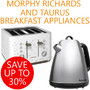 Save up to 30% on Morphy Richards and Taurus Breakfast Appliances - Thumbnail