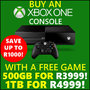 Xbox One 500GB & 1TB Console + Game Festive Offer. Ends 25 December 2016. - Thumbnail