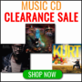 Music CD Clearence Up to 50% off While Stocks Last - Thumbnail