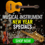 Musical Instruments - New Year Specials - Thumbnail