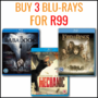 Hot Bundle Deal: Buy 3 Blu-rays For R99 - Thumbnail