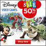 Disney Video Games Sale - 50% Off - Sale Extended - Thumbnail