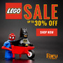 Up to 30% Off In Stock LEGO® - Thumbnail