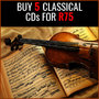 Hot Bundle Deal: Buy 5 Classical CD's for R75 - Thumbnail