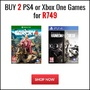 Buy 2 PS4 or Xbox One Games for R749 - Thumbnail