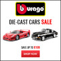 Bburago Die-Cast Cars Sale - Thumbnail