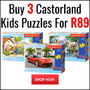Buy 3 Castorland Kids Puzzles for R89 - Thumbnail