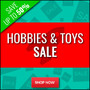 Hobbies & Toys Clearance Sale - Up To 50% Off - Thumbnail