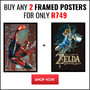 Buy Any 2 Framed Posters For Only R749 - Thumbnail