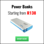 Wide Range of Power Banks now Available from only R138 - Thumbnail