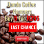 Last Chance To Buy Dando Coffee Hampers - 5 for R295 - Ends 31 May - Thumbnail