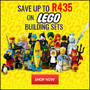 Save Up To R435 on LEGO® Building Sets - Thumbnail