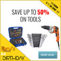 Save Up To 50% On Tools - Thumbnail