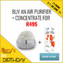 Buy A Crystal Aire Standard Air Purifier + Rose Concentrate For R495 - Thumbnail