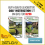 Hot New Bundle Deal: Buy The David Leadbetter Golf Instruction DVD set for R298 - Thumbnail