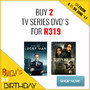 Hot New Bundle Deal: Buy 2 TV Series DVD's for R319 - Thumbnail