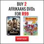 Hot Bundle New Titles Added: Buy 2 Afrikaans DVD's for R99 - Thumbnail