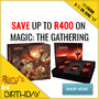 Magic: The Gathering Sale - Save Up To R400 - Thumbnail