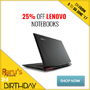 Save up to 25% with Lenovo Ends 30 June 2017 - Thumbnail