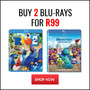 Hot Bundle New Titles Added: Buy 2 Blu-rays for R99 - Thumbnail