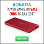 Romoss Power Banks on Sale, Ends 16 July 2017 - Thumbnail