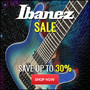 Ibanez Sale - Save up to 30% - Thumbnail