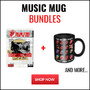 Music Mug Bundles - Including AC/DC, Rolling Stones and more - Thumbnail