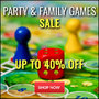 Up To 40% Off Party & Family Games - Thumbnail