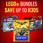 LEGO Bundles - Save Up To R305 - Thumbnail