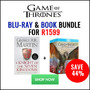 Hot Bundle Deal: Buy Game Of Thrones Blu-ray & Book Bundle for R1599 - Thumbnail