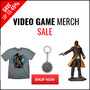 Video Game Merch Sale - Save Up To 45% - Thumbnail