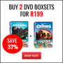 Hot Bundle Deal: Buy 2 DVD Boxsets for R199 - Thumbnail