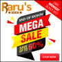 Raru's End of Month Mega Sale - Up to 60% Off (Ends Midnight 30 July 2017) - Thumbnail