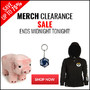 Merch End Of Month Clearance Sale - Extended For One More Day - Thumbnail