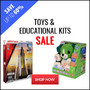 Toys & Educational Kits - Save Up To 60% - Thumbnail