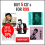 Hot Bundle Deal: Buy 5 CD's for R99 - Thumbnail