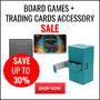 Board Games + Trading Cards Accessory Sale - Up To 30% Off - Thumbnail