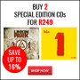Hot Bundle Deal: Buy 2 Special Edition CD's for R249 - Thumbnail