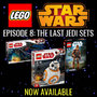 LEGO® Star Wars - Episode 8: The Last Jedi New Releases Now Available - Thumbnail