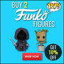 Buy 2 Funko Pop Figures and Get 10% Off - Thumbnail